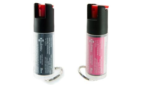 RESQME Self Defense Pepper Spray (1 or 2-Pack; 0.54 Fl. Oz. Bottles)