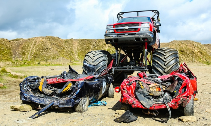 Monster Truck and Car CrawlingExperience with Optional Off-Roading for Up to Four at Wicked Adventures(Up to 54% Off)