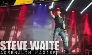 """Adrenalin Magier Steve Waite: 1 Sitzplatz-Ticket für den """"Adrenalin-Magier"""" Steve Waite für 4 verschiedene Tour-Locations (bis zu 50% sparen)"""