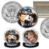 John F. Kennedy 100th Birthday Celebration Half Dollar Coin (2-Piece)