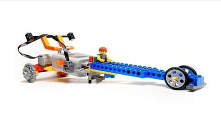 One Half-Day Creative Lego Brick Building Camp Session for One or Two Children at Bricks4Kidz (Up to 52% Off)