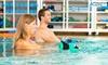 Des séances d'aquabiking