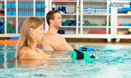 1, 3 ou 5 séances d'aquabiking de 45 min pour 1 personne à 7,90 € au centre Fréquence forme Limoges