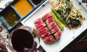 The Rocks Teppanyaki: 9-Course Lobster and Wagyu Degustation ($69) with Wagyu AA9+($88) at The Rocks Teppanyaki (Up to $185 Value)