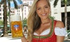 Up to 35% Off at Oktoberfest at Fritz and Franz Bierhaus