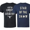Men's Western-Inspired Graphic Tees