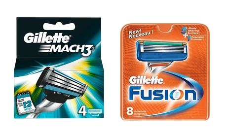 8 o 16 ricariche lamette Gillette Fusion Manual Proglide o...