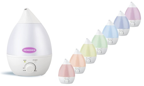Ultrasonic Cool Mist Humidifier and Aroma Diffuser