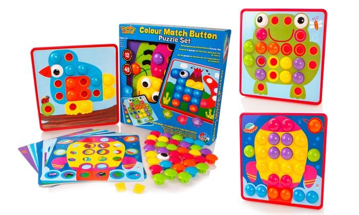 Colour Match Button Art Set (£7.99)