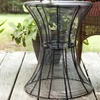 Outdoor Round Metal Accent Table