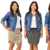 Sociology Women's Plus-Size Sweatshirt Skirt (Sizes 2X & 3X)