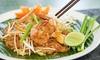 Menu thaïlandais en 3 services (2p.)