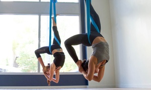 Up to 63% Off Group Aerial Yoga Classes at Flight Room Seattle, plus 6.0% Cash Back from Ebates.