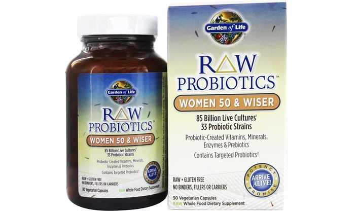 Garden Of Life Raw Probiotics Groupon Goods