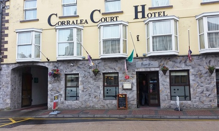 groupon.co.uk - Co. Galway: 1-2 Nights for Two with Breakfast, Dinner and a Glass of Wine at Corralea Court Hotel