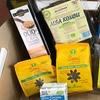 Box di alimenti e cosmetici biologici