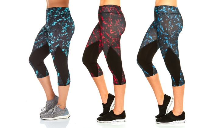 Women's Matrix Print Capri (2-Pack)