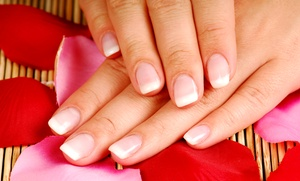 The Wax Pot: One Basic Manicure, or One or Three Gel Manicure at The Wax Pot (Up to 44% Off)