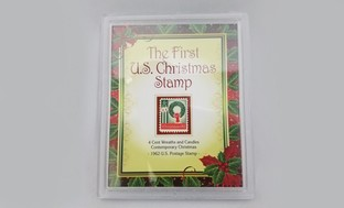 The First U.S. Christmas Stamp