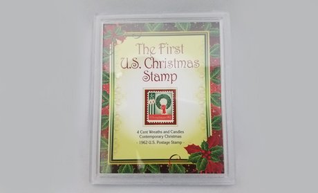 The First U.S. Christmas Stamp