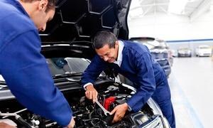 Autoingros Service: Tagliando auto completo per tutte le cilindrate con ricarica clima e lavaggio manuale da Autoingros Service (sconto 85%)