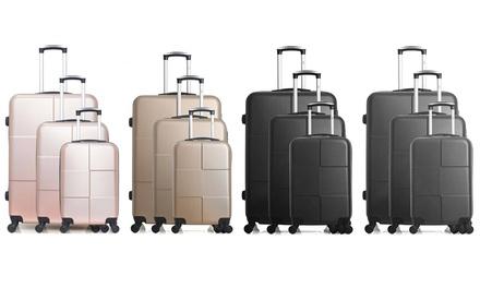 Set di 3 valigie Coronado