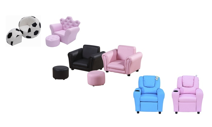 Groupon Goods Global GmbH: Kids' Armchair Set in Choice of Design
