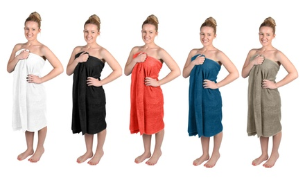 $19.95 for a TwoPack of Giant Bath Towels in a Choice of Five Colours