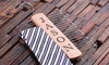 CabanyCo: One or Two Personalized Tie Hangers from CabanyCo (Up to 60% Off)