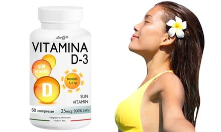 Fino a 360 compresse di Vitamina D3 Lineadiet per rinforzare l'organismo e ridurre l'appetito