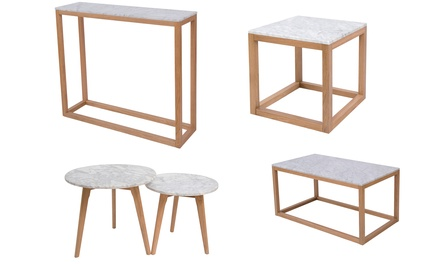 Harlow Marble Tables