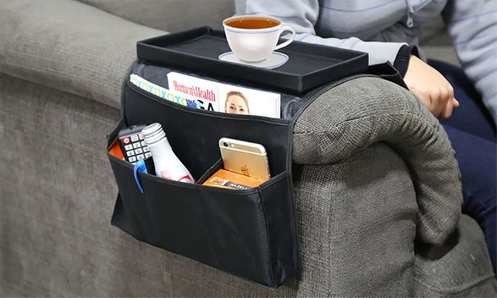 One or Two Six-Pocket Arm Rest Organisers for £5