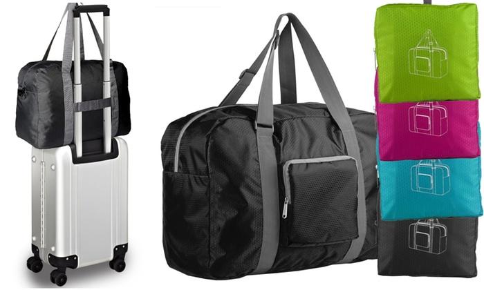 sac de voyage pliable l ger groupon. Black Bedroom Furniture Sets. Home Design Ideas