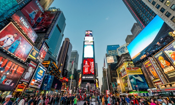 Gogoustour - Boston: Boston to NYC New Year's Eve Tour for One or Two from Go Go U.S. Tour (40% Off)