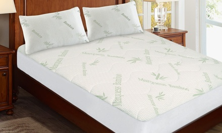 for a Bamboo Mattress Pad with Optional Pillowcase Twin Pack Don't Pay up to $130