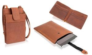 Mix d'accessoires cuir Woodland