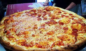 Benny Nicola's: One Cheese Pizza or One Topping or Specialty Pizza at Benny Nicola's (Up to 29% Off)