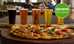 Uptown Freehouse: Pizza to Share and Beer Paddle Each for 2 ($39), 4 ($78) or 6 People ($117) at Uptown Freehouse (Up to $225 Value)