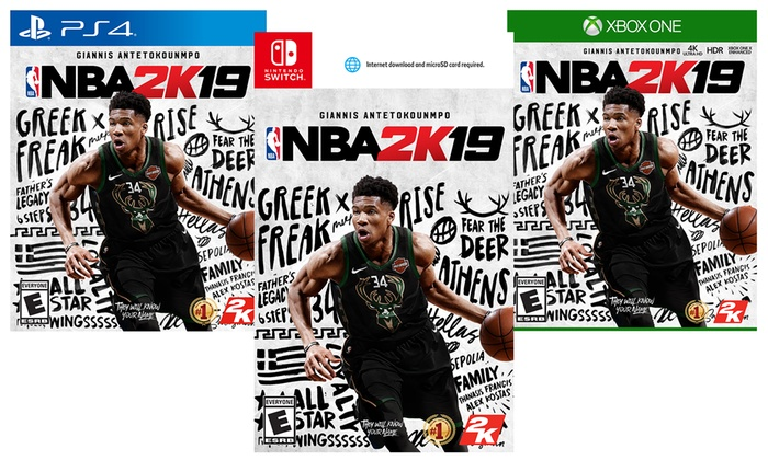 54399705f NBA 2K19 for PlayStation 4