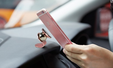 One or Two Magnetic Car Phone Holders