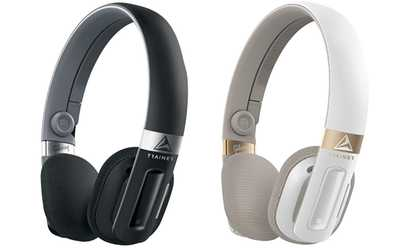 Headphones gold and white - Gibson Trainer (Black) Overview