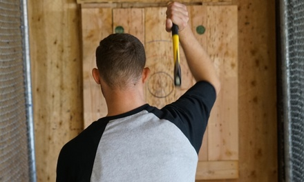 90-Minute Axe Throwing Session on a Shared Lane for One, Two, Three, Five, or Ten at AxeVentures (Up to 48% Off)