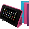 FileMate 7 In. Clear X2 Dual-Core 16GB Tablet and Leather Case