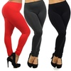 Women's Plus-Size Slimming Leggings (4-Pack)
