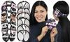 Women's Fleece and Plush Lined Foldable Earmuffs (6-Pack)
