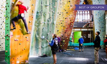 Rock Climbing Entrance for Adults, Children, and Families at Undercover Rock