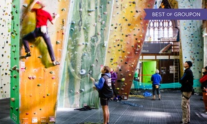 Undercover Rock Ltd: Rock Climbing Entrance for Adults, Children, and Families at Undercover Rock