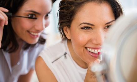 Makeup workshop naar keuze voor 2 tot 8 personen bij BlueArts in Schagen