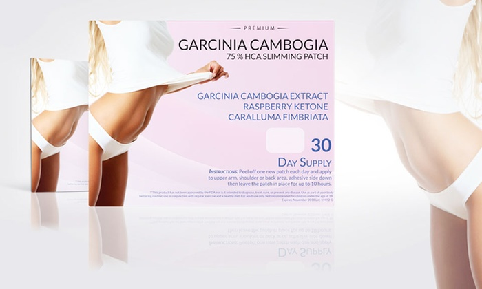 Garcinia Cambogia Slimming Patches Weight Loss Supplement 30 Pack