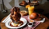 Kick And Munch - London: Two-Course Meal with Drink for One, Two, Four or Six at Kick And Munch (Up to 55% Off)